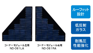 太陽光モジュールND-061LA/RA