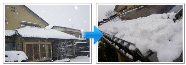 太陽光落雪対策のその後